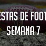 Apuestas de Football: Semana 7